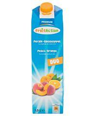 Fruit action Perzik sinaasappel nectar