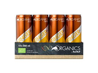 Red bull Organic ginger ale 25cl