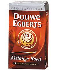 Douwe egberts Koffie melange rood snelfilter 250gr