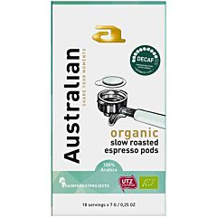 Australian Koffie pods decaf utz organic