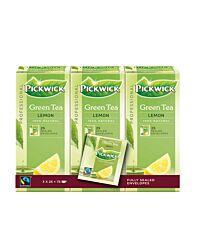 Pickwick Thee groen met citroen 2 gr fairtrade