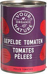 Your organic Gepelde tomaten bio