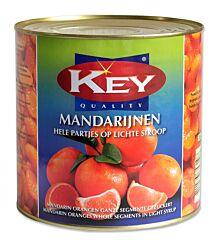 Key Mandarijnen fancy hele partjes lichte siroop
