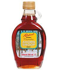 Dietrex Ahornsiroop in glazen fles