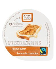 Van oordt Pindakaas cup 15 gr fair trade