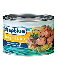 Deep blue Tonijn in olie