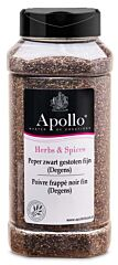 Apollo Peper zwart gestoten (degens)