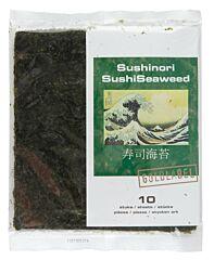 Goldlabel Sushinori/sushiseaweed (10 vellen)