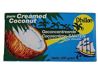 Dhillon Santen cocoscreme geconcentreerd