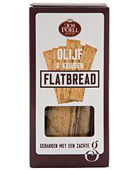 Jos poell Flat bread griekse olijf en kruiden