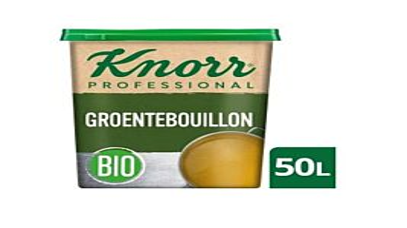 Knorr Groentebouillon bio (42lt)