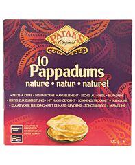 Patak's Pappadums (naturel)