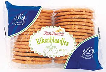 Van doorn Eikenblad koekjes 250 gr