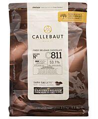 Callebaut Chocolade callets puur c811