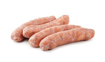 Varkenssaucijs pak 5 st. ca  100 gr diepvries