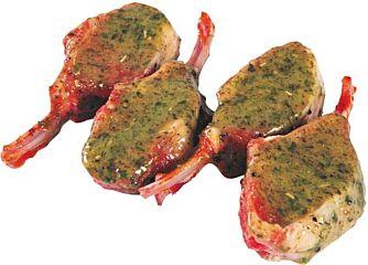 Lams frenched rack 1 rib gemarin.gourmet nwz ca 600 gram