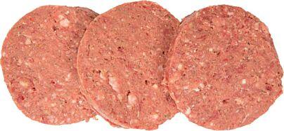 Runderhamburger 100% ossenhaas 200 gram per bak 20x ca 200 gr diepvries
