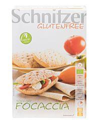 Schnitzer Foccacia broodjes glutenvrij bio