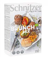 Schnitzer Brunch mix broodjes glutenvrij bio