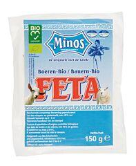 Minos Boeren feta 150 gr vacuum bio