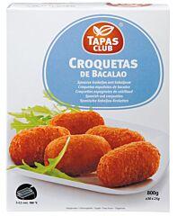 Tapas club Spaanse kroketjes met kabeljauw 32x25 gr
