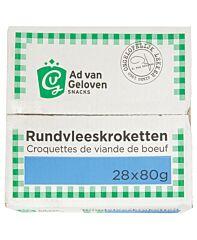 Van geloven Rundvleeskroket 20% 80 gr