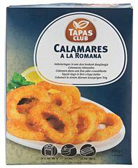 Tapas club Calamares a la romana