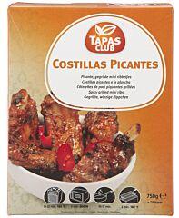 Tapas club Costillas (mini ribbetjes) picante 75ogr