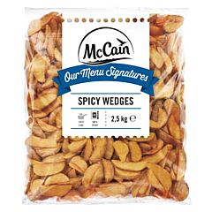 Mc.cain Spicy wedges diepvries