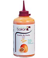 Vergers boiron Coulis mango passionfruit