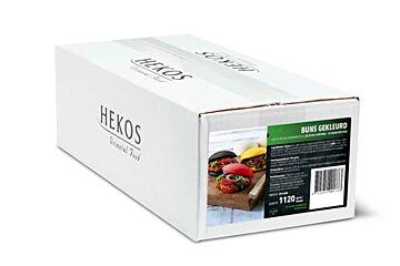 Hekos Steamed buns rood