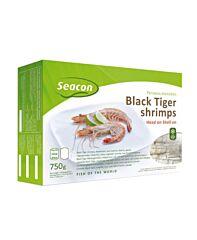 Garnaal black tiger 13/15 80% diepvries