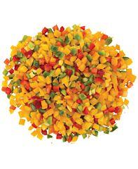 Paprika mix brunoise 10mm