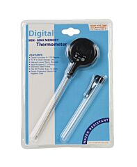 Digitale thermometer met clip