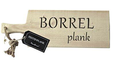 Festijnplank Steigerhouten presenteerplank 55 cm borrel