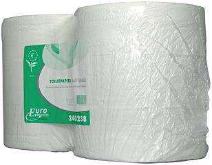Euro Toiletpapier maxi jumbo rol tissue wit