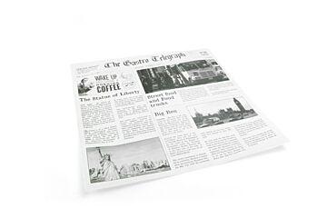 Vetdicht papier news paper 300x300mm