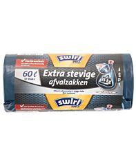 Swirl Afvalzak pro extra sterke 60 liter 12 stuks