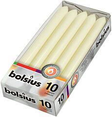 Bolsius Dinerkaarsen 230/20 ivoor
