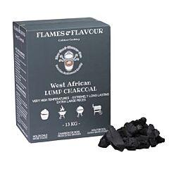 Flames & flavour Houtskool west afrikaans hardhout